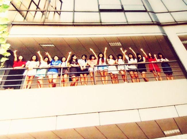 Girls Classmates Graduates