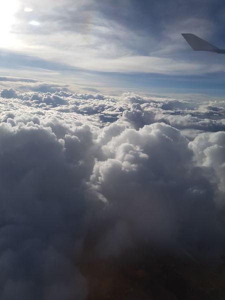 Clouds And Sky Clouds Cloudy Cloud Cloud And Sky Cloudscape Cloud - Sky Clouds & Sky Cloud Formations Cloudscapes Plane Planes