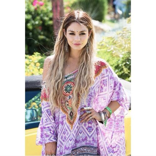 Vanessa Hudgens Coachella Perfection Fashion