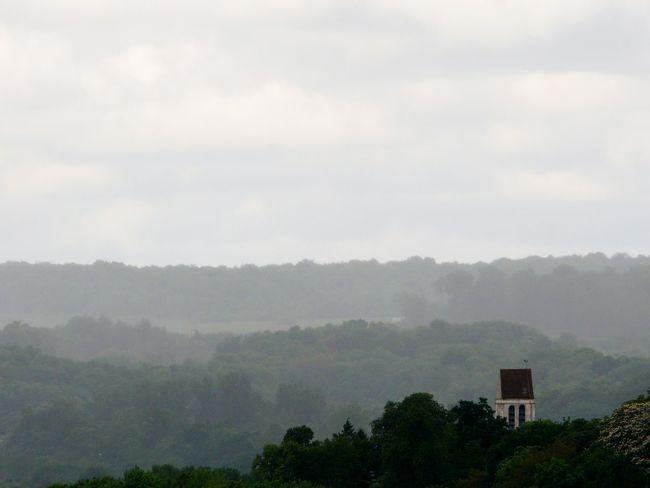 EyeEmNewHere Brumous Fog Forest Forêt De Carnelle Hazy  Hilllock Idyllic View Landscape Mist Misty Landscape Misty Mountains  Nature No People Outdoors Rocky Spur Scenics Spur Three Planes Tranquility In Vallée De L'Ysieux
