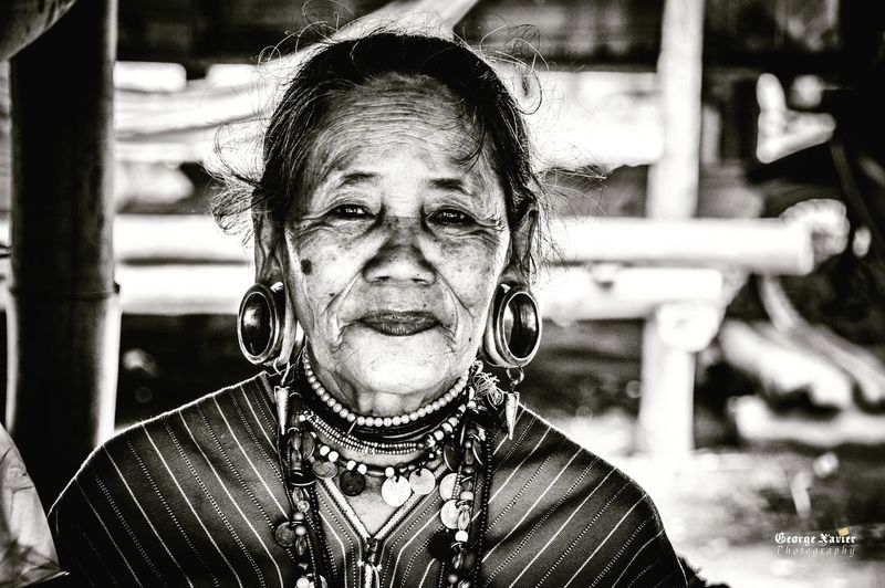 Women Who Inspire You Looking At Camera Portrait Focus On Foreground Front View Headshot Tribe Thailand Blackandwhite Newtalent NEWTALENTTHEALBUM Bestoftheday Bestpics Picoftheweek