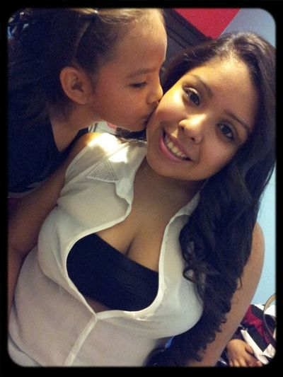 My Gorgeous Niece With Her Second Favorite Tia Lol