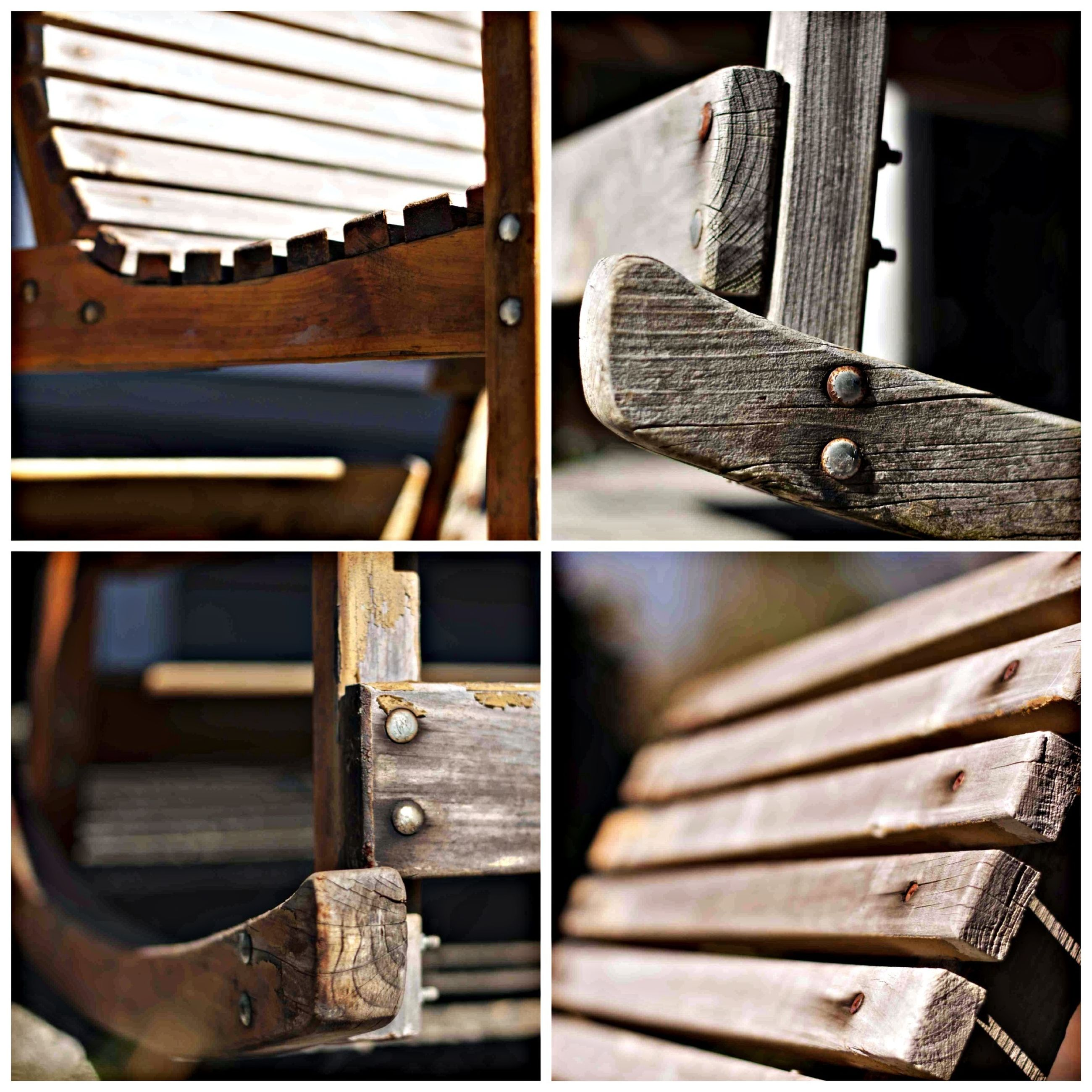 indoors, close-up, chair, absence, wood - material, part of, transfer print, seat, music, empty, musical instrument, no people, metal, focus on foreground, wood, auto post production filter, day, piano, cropped, in a row