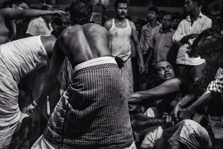 The Street Photographer - 2014 EyeEm Awards Kaalipuja Animalsacrifice Dhaka