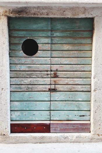 Mediterranean  Architecture Door Island Vis Komiza Komiza Croatia Adriatic Architecture Adriatic Wooden Door Old Door Old Buildings No People The Week On EyeEm