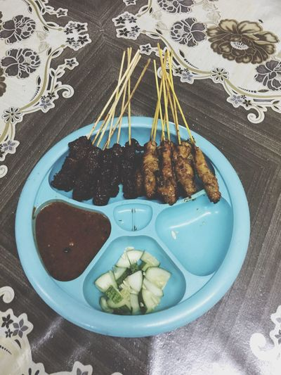 Food Food And Drink Ready-to-eat No People Indoors  Meat Freshness Day Malaysian Food Satay