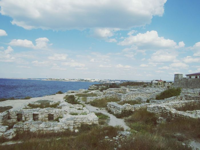 Chersonese Chersonissos Crimea Sevastopol  Russia Greek City Blacksea Sea