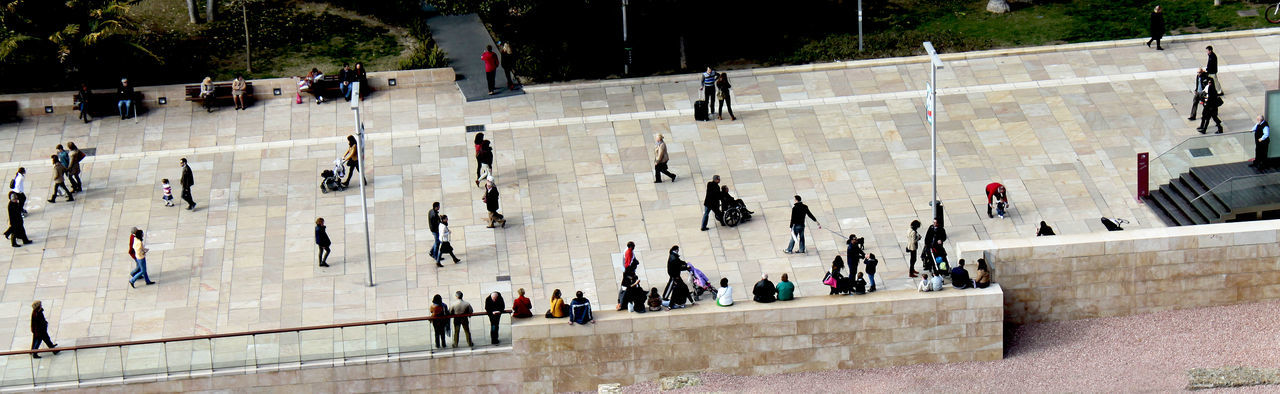 birds eye view on a crowd of people in Malaga, Spain Birds Eye View City City Life Crowd Crowded A Bird's Eye View Holiday Landscape Large Group Of People Malaga People Small SPAIN Spanien Street Life Street Photography Tilt Tilt Shift Top Perspective Tourism Travel Destinations Vogelperspektive Wimmelbild