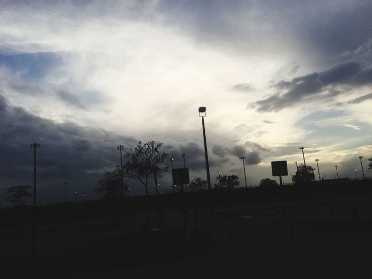 Cloud - Sky Sky Street Light No People Tree Built Structure Outdoors Road Building Exterior Architecture Day Telephone Line Nature Break The Mold EyeEmNewHere