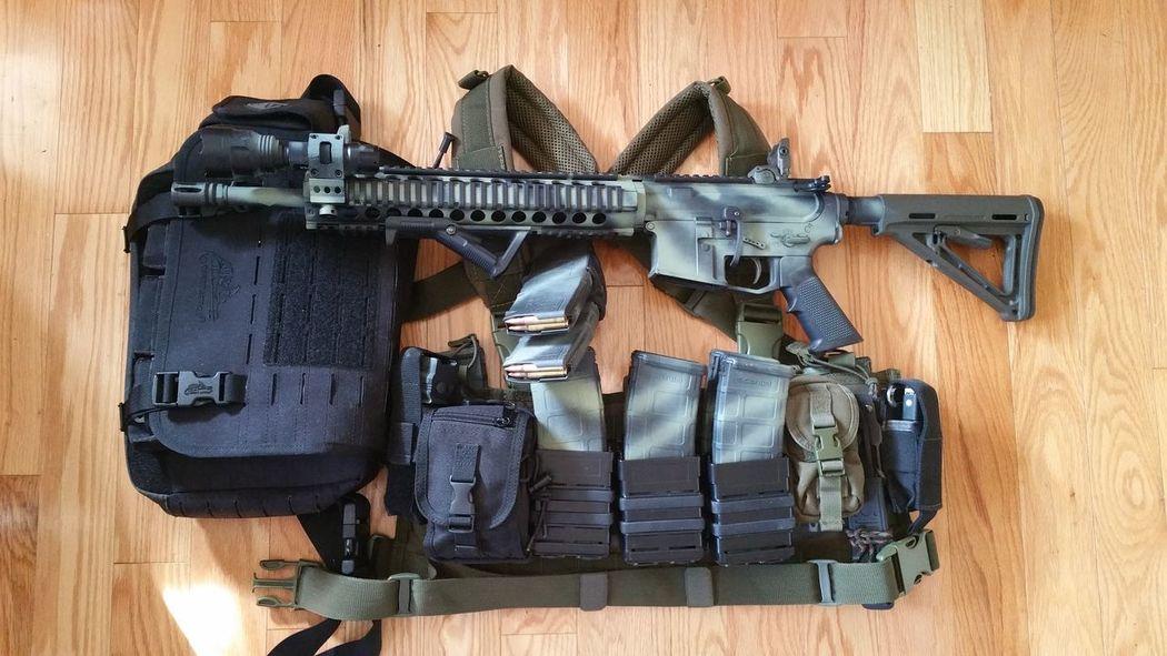 Hope for the best, prepared for the worst. Guns Ar15 Prepper 2nd Amendment