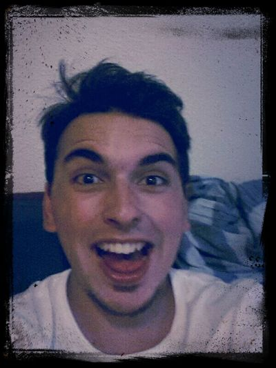 Happy people are the funniest :) Friends Silly Face Silly Boy :)