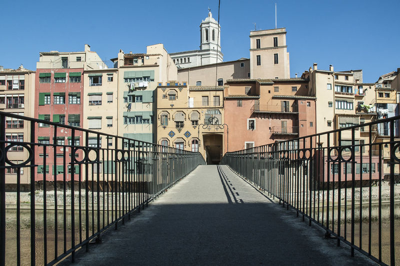 Girona Architecture Building Exterior Built Structure City Clear Sky Day No People Outdoors Rosafrancomendoza Sky The Way Forward Travel Destinations