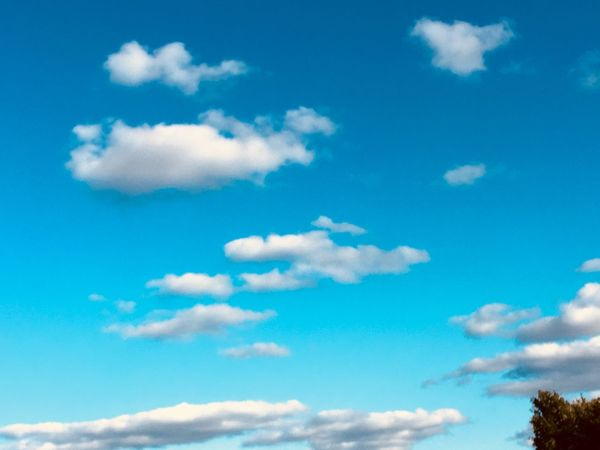 Another sky shot. Cloud - Sky Sky Beauty In Nature Tranquility Nature Blue No People Scenics - Nature Tranquil Scene Day Outdoors Idyllic Backgrounds Non-urban Scene Sunlight Meteorology