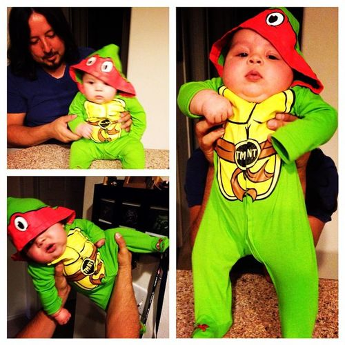 TURTLE POWER Melt Tmnt Babylife