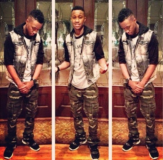 ? Whatuptho Todays Hot Look Check This Out Coolingtho Who better than the boy huh?
