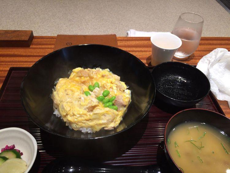 空港で朝ごはんたべて昼には羽田とびます。東京さようなら〜、ただいま北海道 Tokyo,Japan 親子丼 Haneda Airport Breakfast