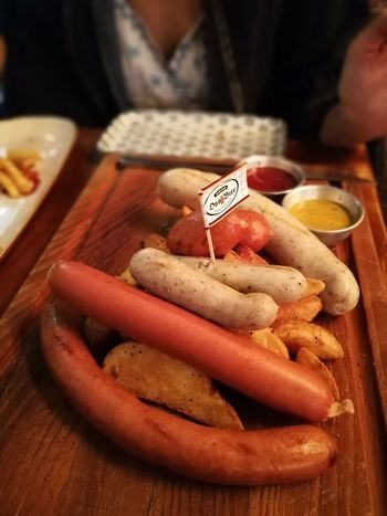 Food And Drink Meat Food Sausage Close-up Ready-to-eat Huaweiphotography Huawei Photography