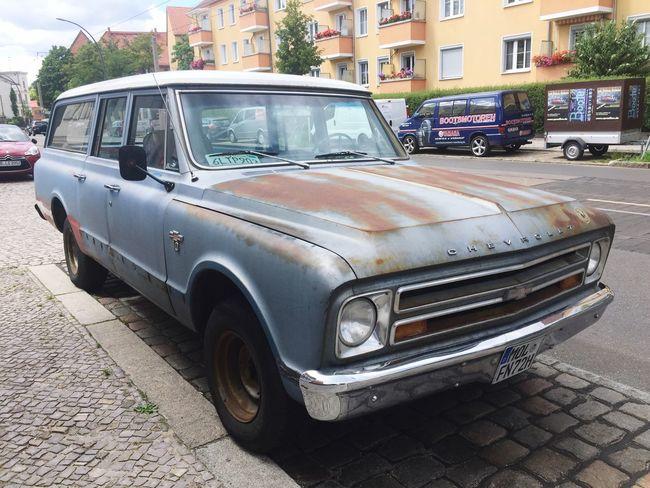 Chevrolet Chevy Vintage Cars Stationwagon Rusty Karre