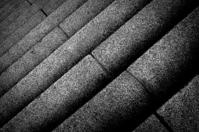 Backgrounds Blackandwhite Blackandwhite Photography Close-up Day Full Frame No People Outdoors Steps Textured