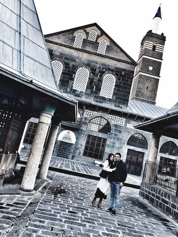 Diyarbakır Architecture Building Exterior Built Structure Sky Building Day Low Angle View