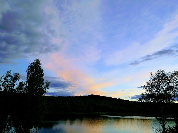 Cloud - Sky Lake Sky Nature Water Scenics Tranquility No People Outdoors Beauty In Nature Mate 9 Pro Sweden