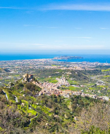 View of Sicily