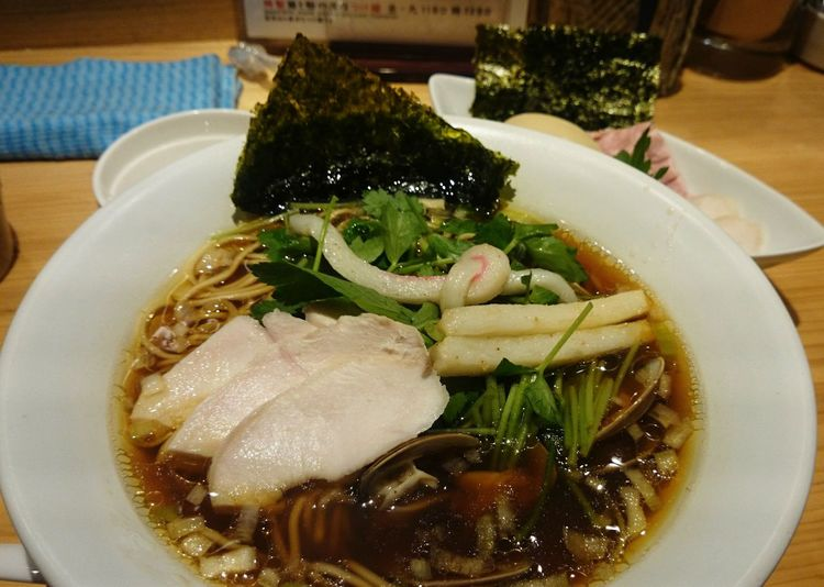 特製蛤SOBA Lunch Time! Delicious ♡ 東銀座 Ramen 蛤