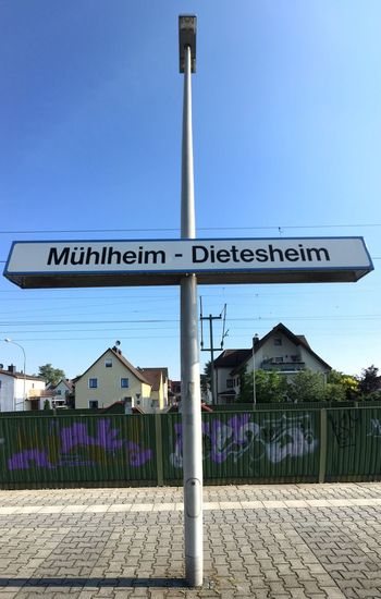 …and arrived via S8 in Mühlheim.