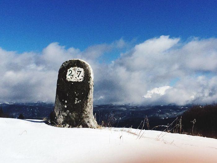 Snow Afterwork Sky Clouds Twentyseven  View Mountains First Eyeem Photo