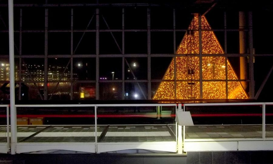 Christmas Nightphotography Taking Photos Getting Inspired Geometric Shapes Darkness And Light