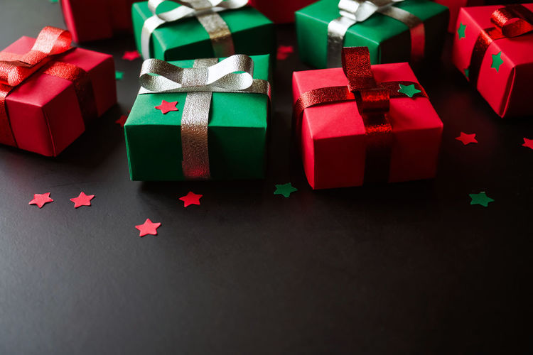 gift boxes and