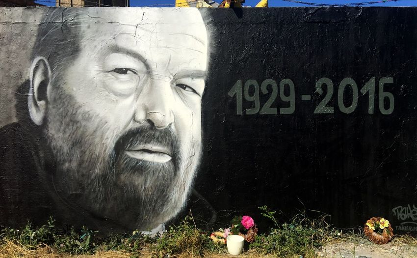 R.I.P. :( Budspencer Rip IPhoneography Graffiti Art Graffiti Streetphotography
