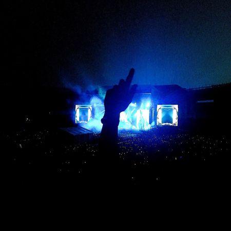 Most beautiful moment. Live Night Edm Music Blue Technology Event Silhouette Illuminated Nightlife Love Light Summer Dance Memory EyeEmNewHere EyeEmNewHere Neon Life
