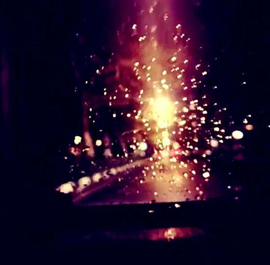 Night Night Lights Night Photography Nightphotography Driving Driving In My Car Rain Rainy Night Rainy Night Drive Rainy Tehran Tehran Tehran, Iran