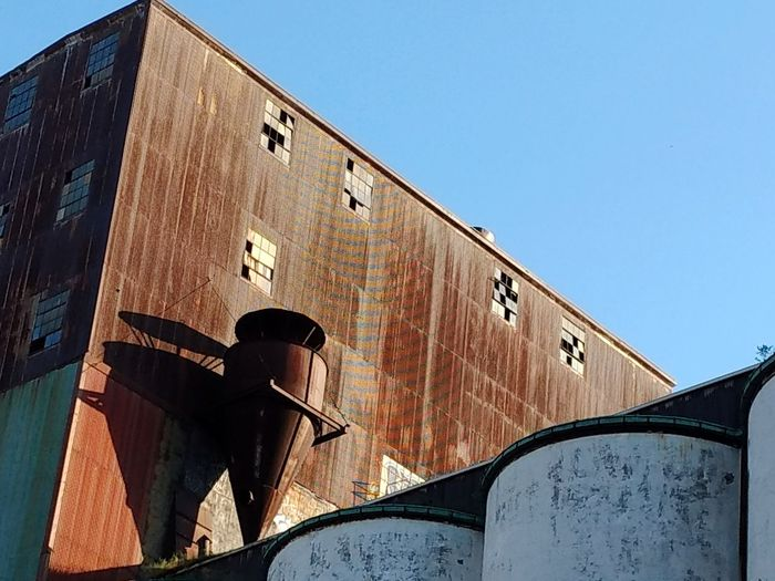 Architecture No People Clear Sky Building Exterior Industry Silo City Buffalo, NY