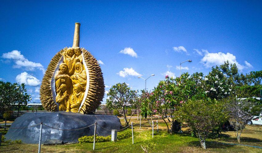 Landscape Durian Statue Eyeem Philippines