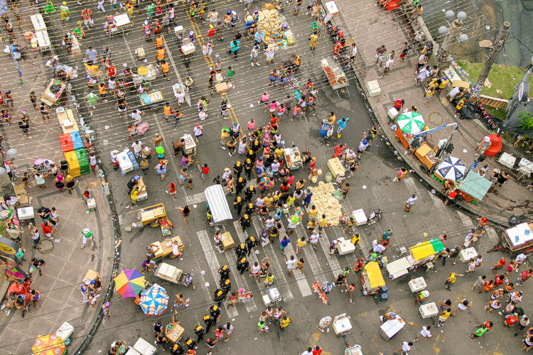 Police Abundance City Life Crowd Day Elevated View High Angle View Large Group Of People Leisure Activity Lifestyles Mixed Age Range Multi Colored Outdoors A Bird's Eye View People And Places Go Higher The Art Of Street Photography