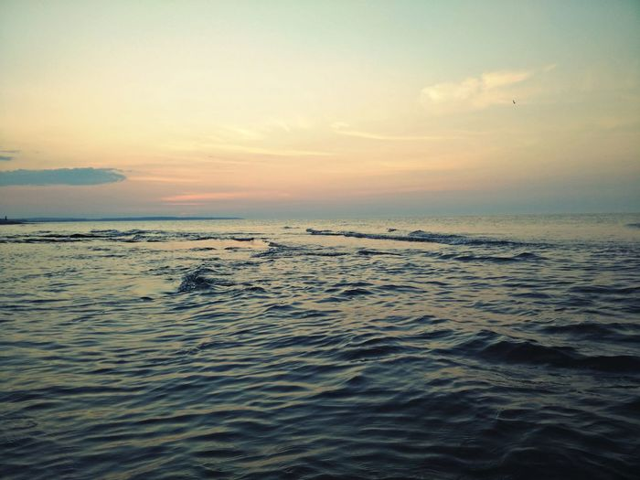 Ocean Tranquil Scene Sunset Travel Photography Prince Edward Island Clouds Sea And Sky