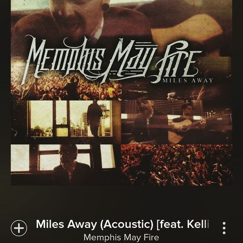 Listen to this because babe sent it to me on spotify ? Miles Away feat. Kellin Quinn ? this song is so sad though, made me cry.. Memphismayfire Kellin Quinn Acoustic Song Sad Spotify