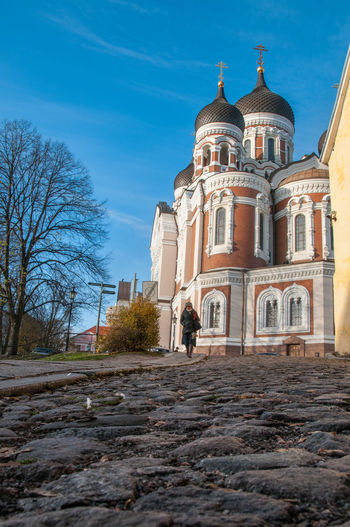 Architecture Bare Tree Building Exterior Built Structure Day Dome History Outdoors Place Of Worship Religion Sky Travel Destinations