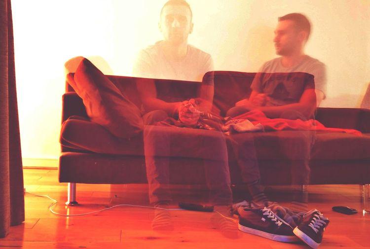 Double me Slowshutter Lowlightphotography Mobilephotography Boredom Doppelgänger