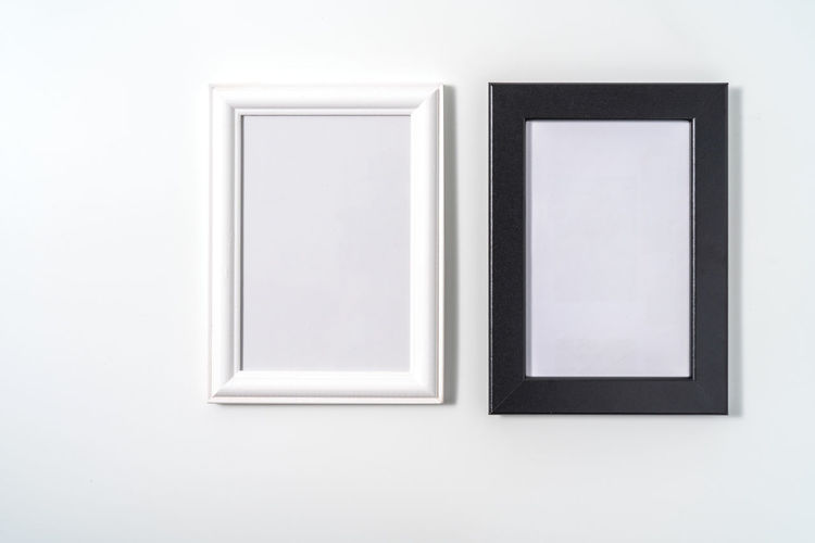 Open window of a white wall