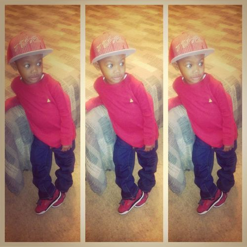& Hes Off To School☺❤