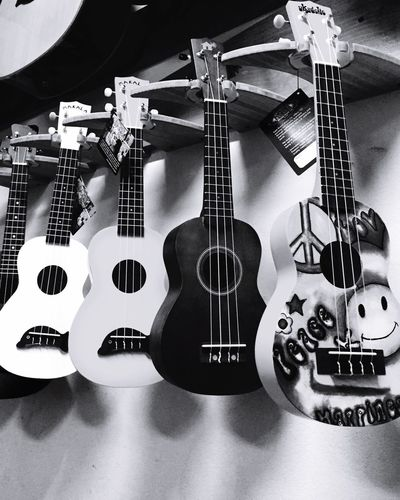 strings Guitar Musical Instrument Musical Instrument String Music Woodwind Instrument Indoors  No People EyeEmJamaica IPhoneography Blackandwhite Shadows & Lights Graffiti Art Peace 876EyeEm