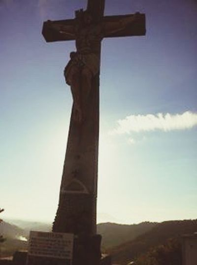 Adventure Buddies Up on mountain top with God. Holylandphilippines Jesusontop Sacredplace