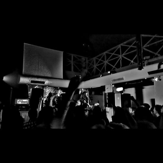 Music Brings Us Together Blackandwhite Blackandwhite Photography Myview Life View Black Music Rock'n'Roll Bar Concert Photography Lifestyles City Life Lookingup
