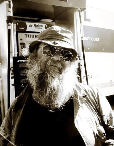 Hobo,homeless,no toe joe One Man Only Beard Eyeglasses  Day