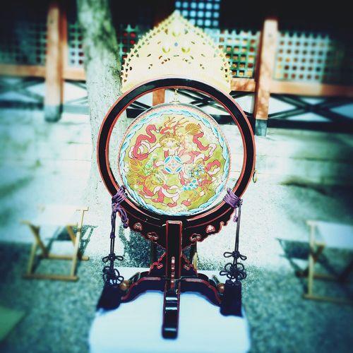 Osaka,Japan Sumiyoshitaisha 住吉大社 火焔太鼓 雅楽 Traditional Culture Of Japan Drums