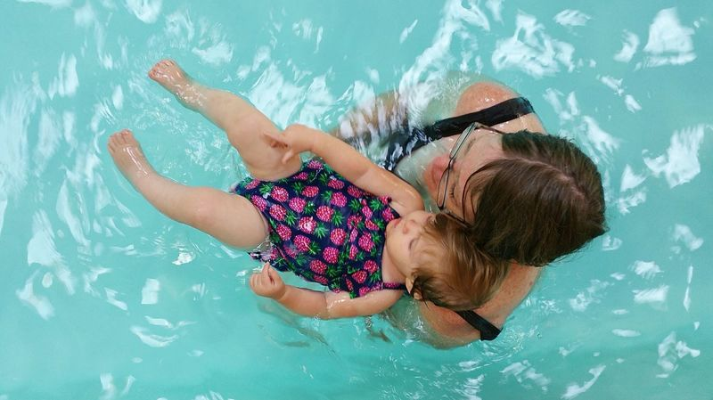 Grandma and Rosalea enjoying the pool Hello World Check This Out Hanging Out Taking Photos Enjoying Life Relaxing Pool Pooltime Pool Time Family Family Time Babygirl 11months Old Waterbaby Watershots Grandma Grandmatime