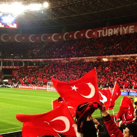 Stadium Sport Soccer Night Match - Sport Competition Team Sport Türkiye Turkey♥ Millitakım Millitakımlar